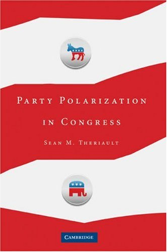 Party Polarization in Congress   2008 edition cover