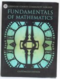 Fundamentals of Math N/A 9780536609687 Front Cover