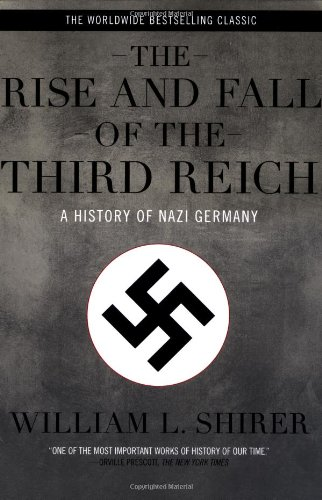 Rise and Fall of the Third Reich A History of Nazi Germany  1990 edition cover