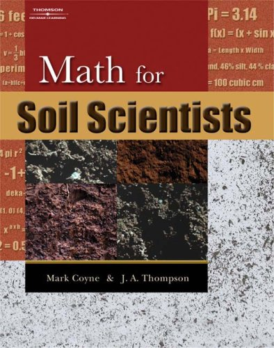 Math for Soil Scientists   2006 edition cover
