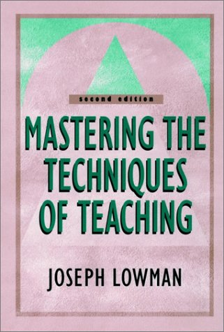Mastering the Techniques of Teaching  2nd 2000 (Revised) edition cover