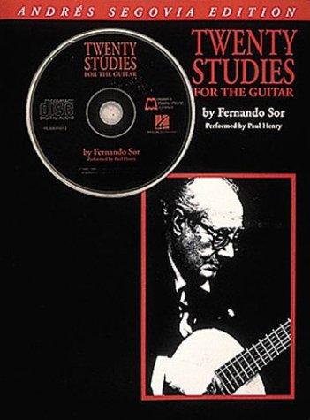 Andres Segovia - Twenty Studies for Guitar  N/A edition cover