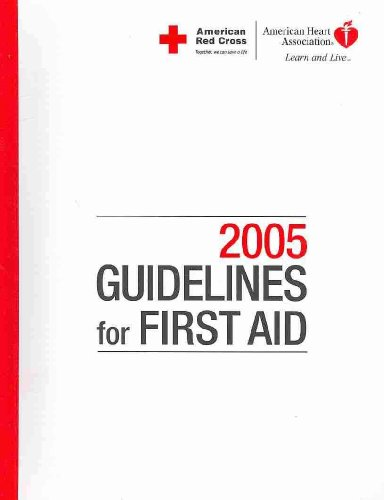 Guidelines for First Aid 2006:  2006 edition cover