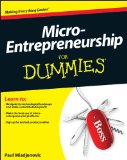 Micro-Entrepreneurship for Dummies   2013 9781118521687 Front Cover