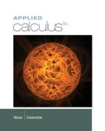 Applied Calculus  6th 2014 edition cover