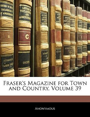 Fraser's Magazine for Town and Country  N/A edition cover