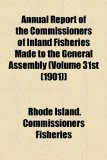 Annual Report of the Commissioners of Inland Fisheries Made to the General Assembly )  2010 edition cover