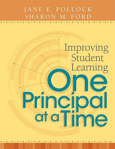 Improving Student Learning One Principal at a Time   2009 edition cover
