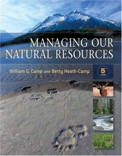 Managing Our Natural Resources  5th 2009 edition cover