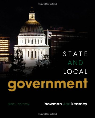 State and Local Government  9th 2014 edition cover