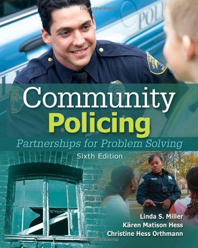 Community Policing Partnerships for Problem Solving 6th 2011 9781435488687 Front Cover