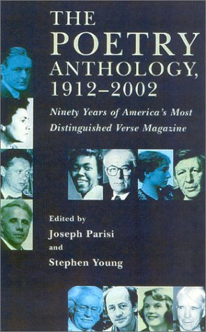 Poetry Anthology, 1912-2002 Ninety Years of America's Most Distinguished Verse Magazine  2002 edition cover