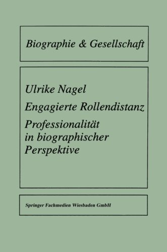 Engagierte Rollendistanz   1997 9783810018687 Front Cover