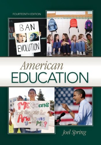 American Education  14th 2010 edition cover