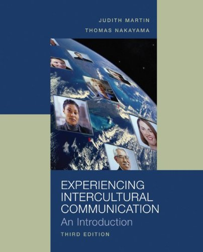 Experiencing Intercultural Communication  3rd 2008 (Revised) edition cover