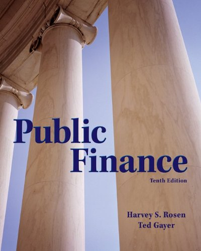 Public Finance  10th 2014 edition cover