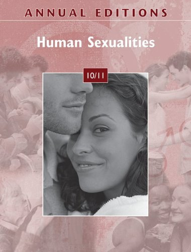 Annual Editions: Human Sexualities 10/11  32nd 2011 edition cover