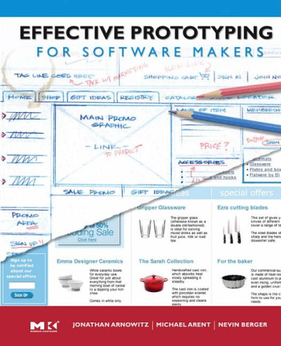 Effective Prototyping for Software Makers   2006 edition cover