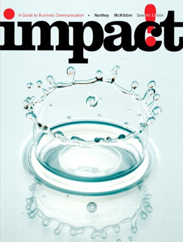 IMPACT:GDE.TO BUS... >CANADIAN 7th 2008 edition cover