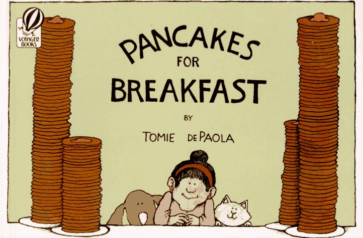 Pancakes for Breakfast   1978 edition cover