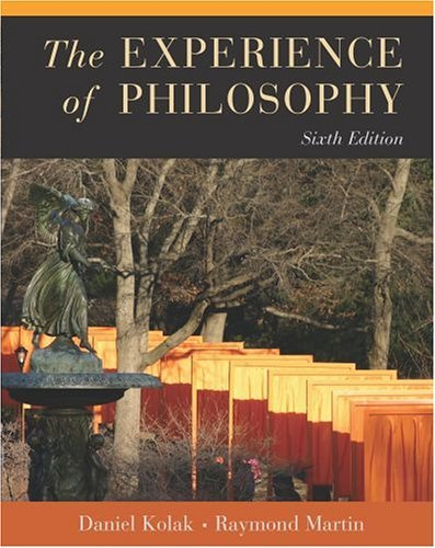 Experience of Philosophy  6th 2005 (Revised) edition cover