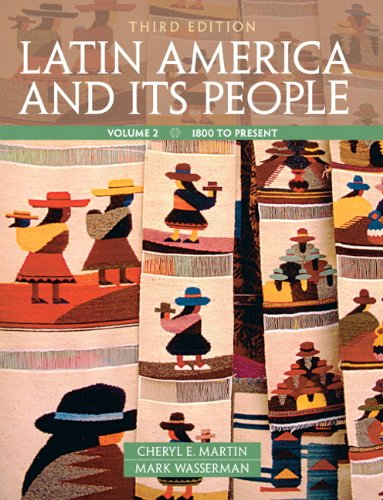Latin America and Its People  3rd 2012 (Teachers Edition, Instructors Manual, etc.) edition cover