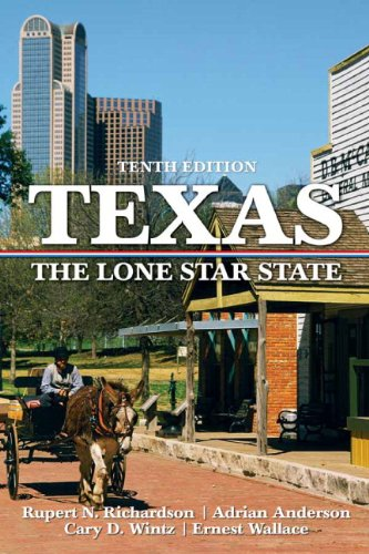 Texas The Lone Star State 10th 2010 edition cover