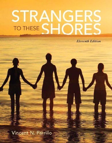 Strangers to These Shores + New Mysoclab With Pearson Etext Access Card:   2013 9780205971688 Front Cover