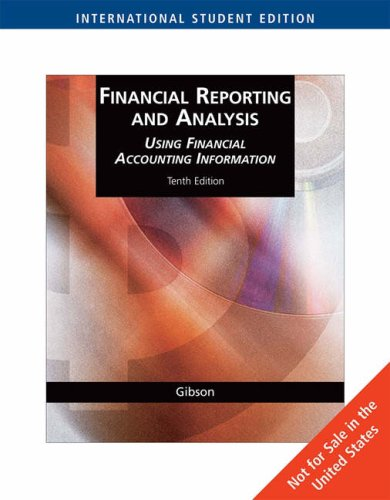 Financial Reporting and Analysis N/A edition cover