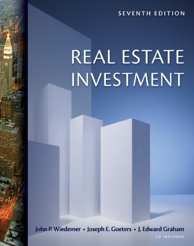 Real Estate Investment (with CD-ROM)  7th 2011 edition cover