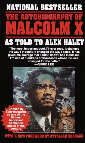 Autobiography of Malcolm X   1965 9780345350688 Front Cover