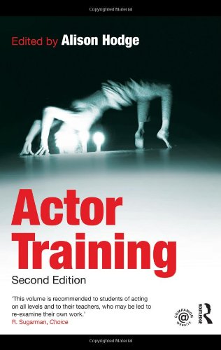 Actor Training  2nd 2010 (Revised) edition cover