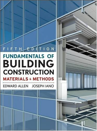 Fundamentals of Building Construction Materials and Methods 5th 2009 edition cover
