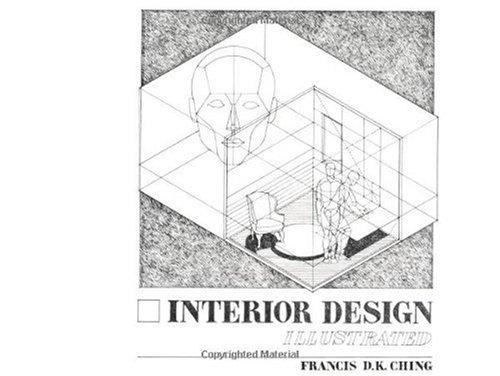 Interior Design Illustrated   1987 edition cover