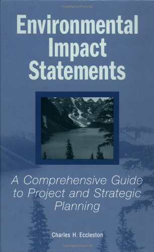Environmental Impact Statements A Comprehensive Guide to Project and Strategic Planning  2000 9780471358688 Front Cover