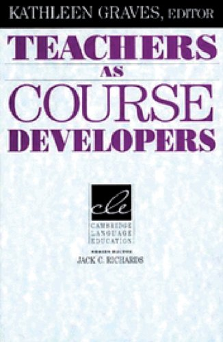 Teachers as Course Developers   1995 edition cover