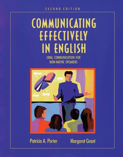 Communicating Effectively in English Oral Communication for Non-Native Speakers 2nd 1992 edition cover