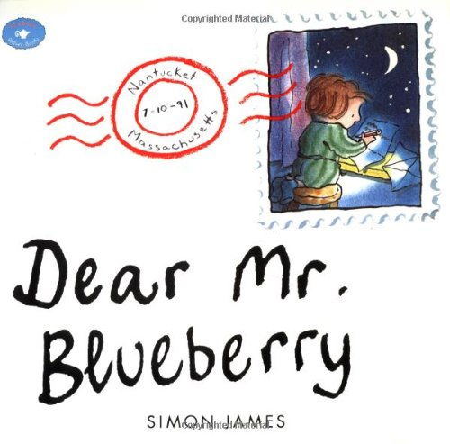 Dear Mr. Blueberry   1996 edition cover