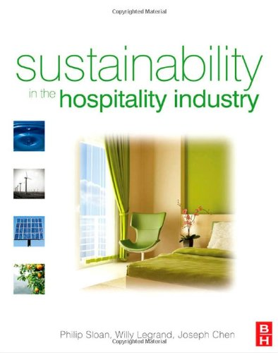 Sustainability in the Hospitality Industry   2009 edition cover