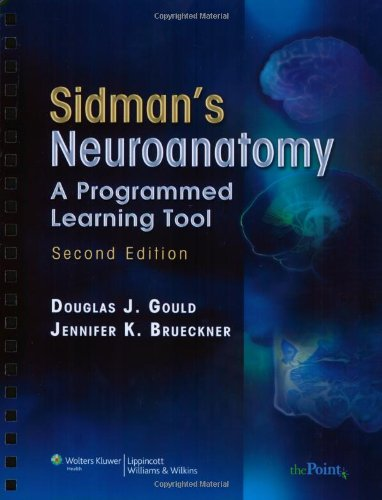 Sidman's Neuroanatomy A Programmed Learning Tool 2nd 2008 (Revised) edition cover