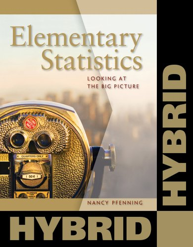 Elementary Statistics Looking at the Big Picture, Hybrid  2013 edition cover