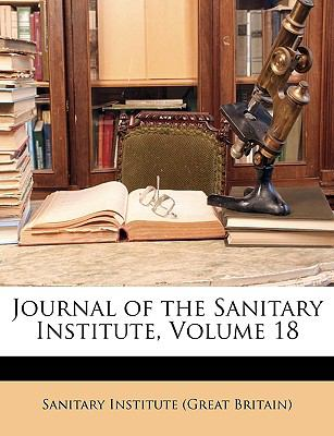 Journal of the Sanitary Institute  N/A edition cover