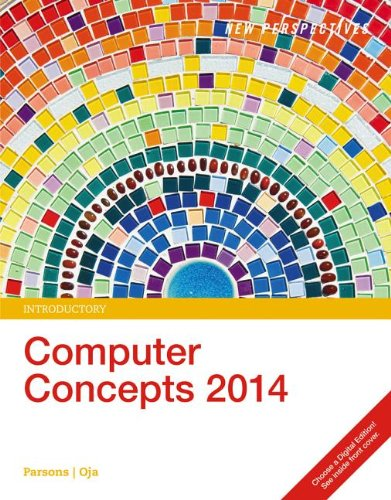 New Perspectives on Computer Concepts 2014: Introductory 16th 2013 edition cover