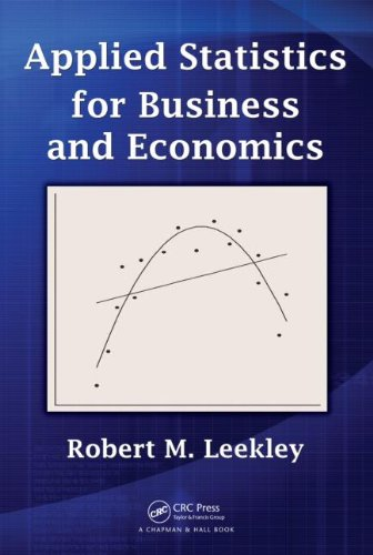 Applied Statistics for Business and Economics   2010 edition cover