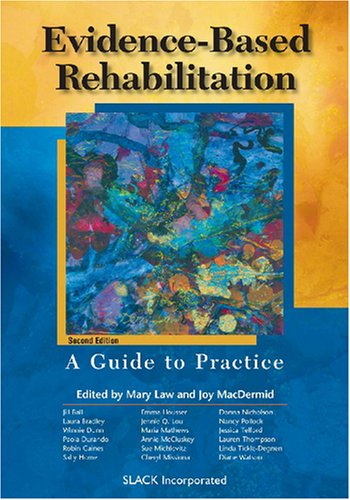 Evidence-Based Rehabilitation A Guide to Practice 2nd 2008 edition cover