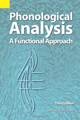 Phonological Analysis A Functional Approach 3rd 2006 edition cover