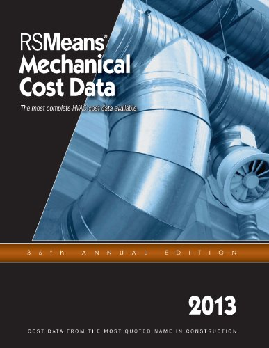 Mechanical Cost Data 2013:   2012 9781936335688 Front Cover