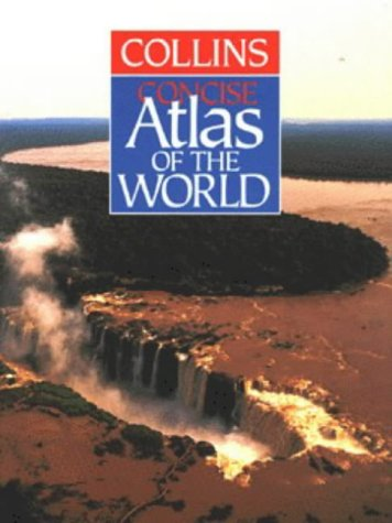 Collins Atlas of the World : Concise Edition  1996 edition cover