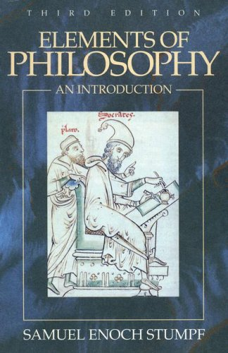 Elements of Philosophy An Introduction 3rd 1993 9780070624689 Front Cover