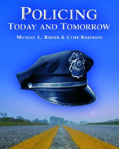 Policing Today and Tomorrow   2007 edition cover